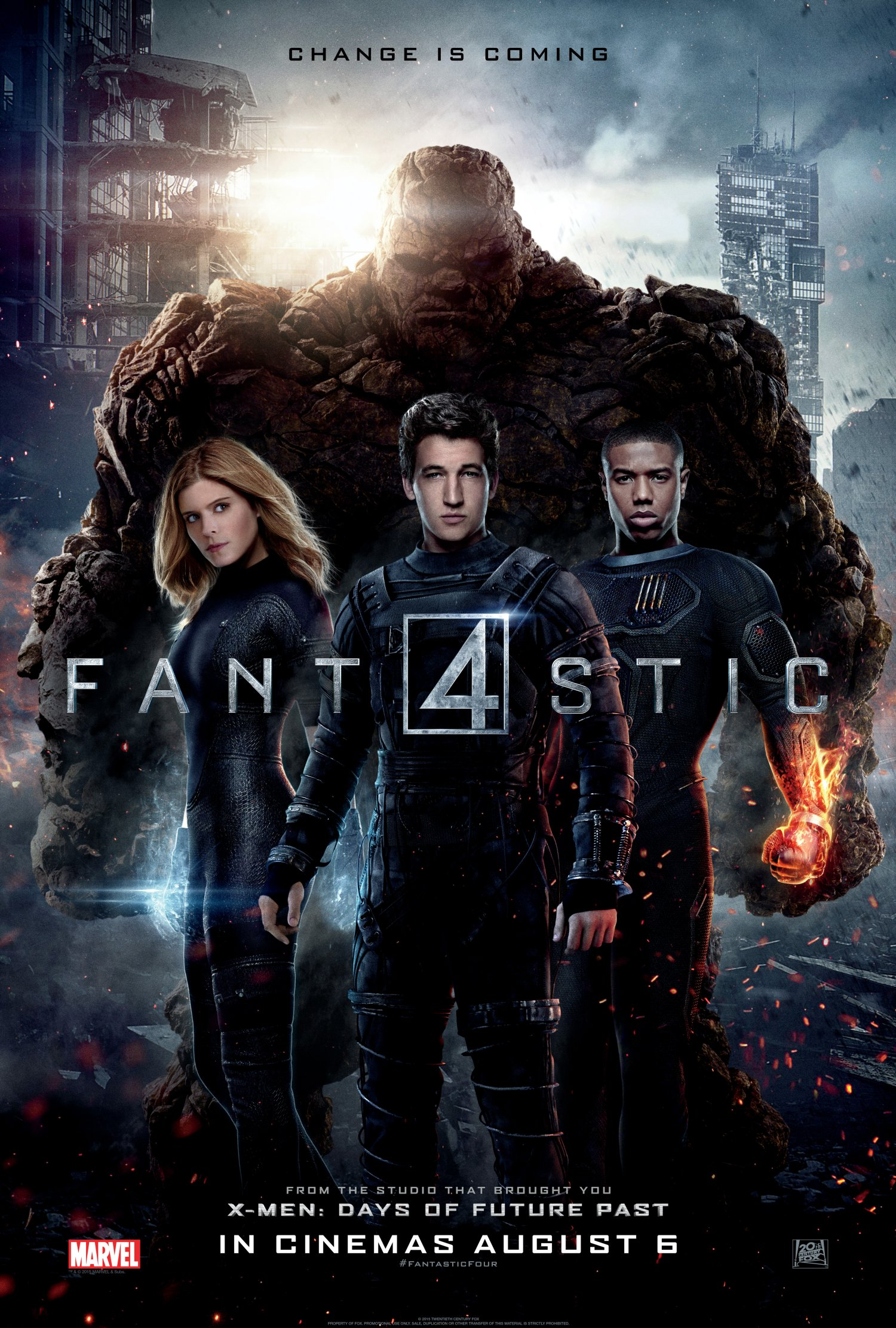 Fantastic Four One Sheet