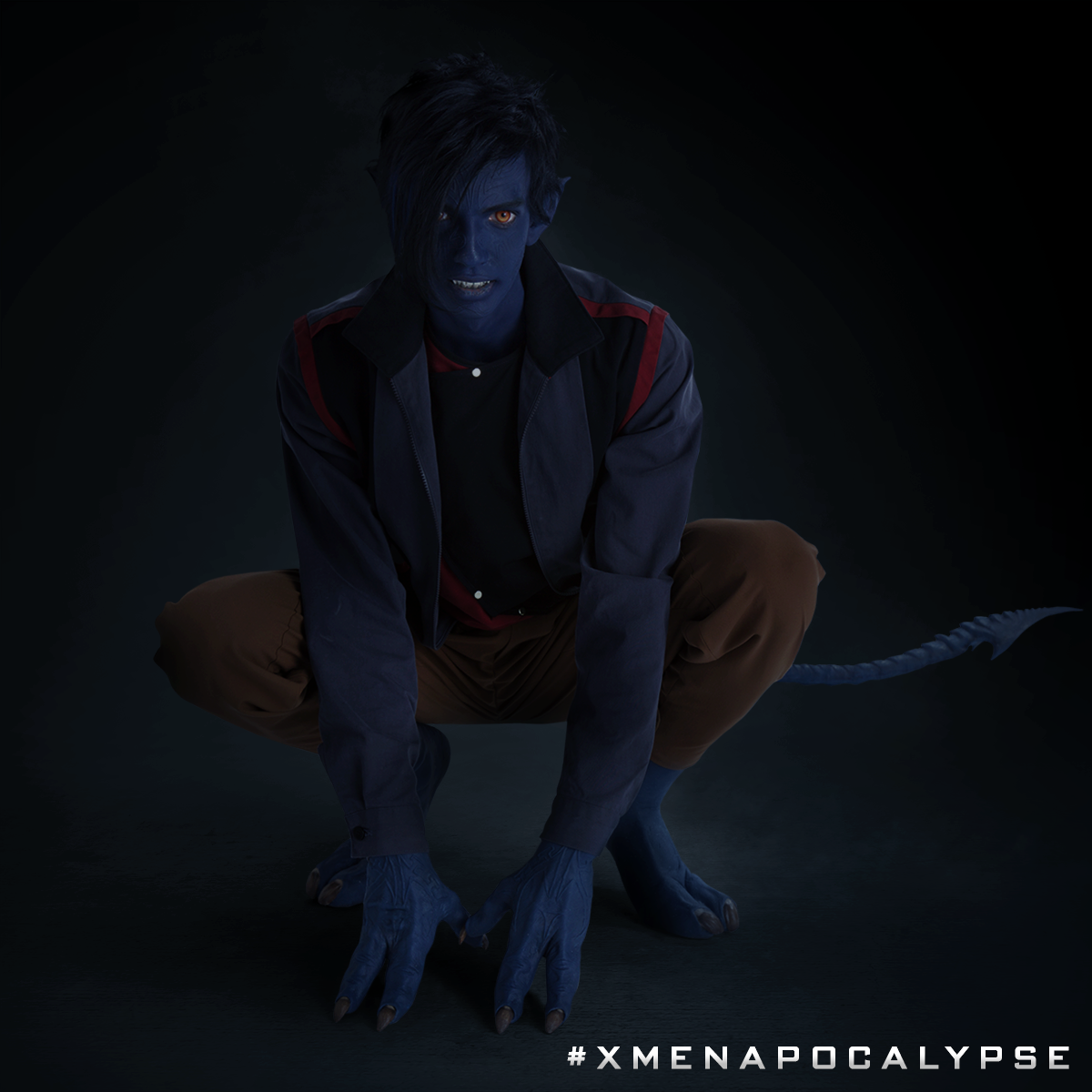 Nightcrawler on all fours