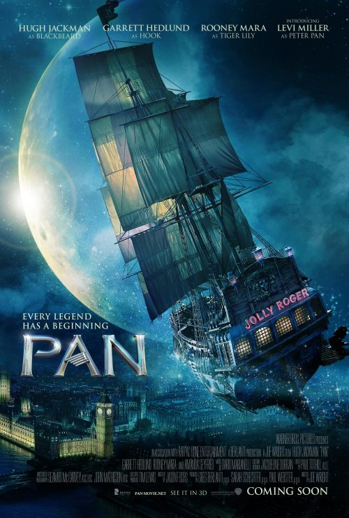 Pan and neverland poster
