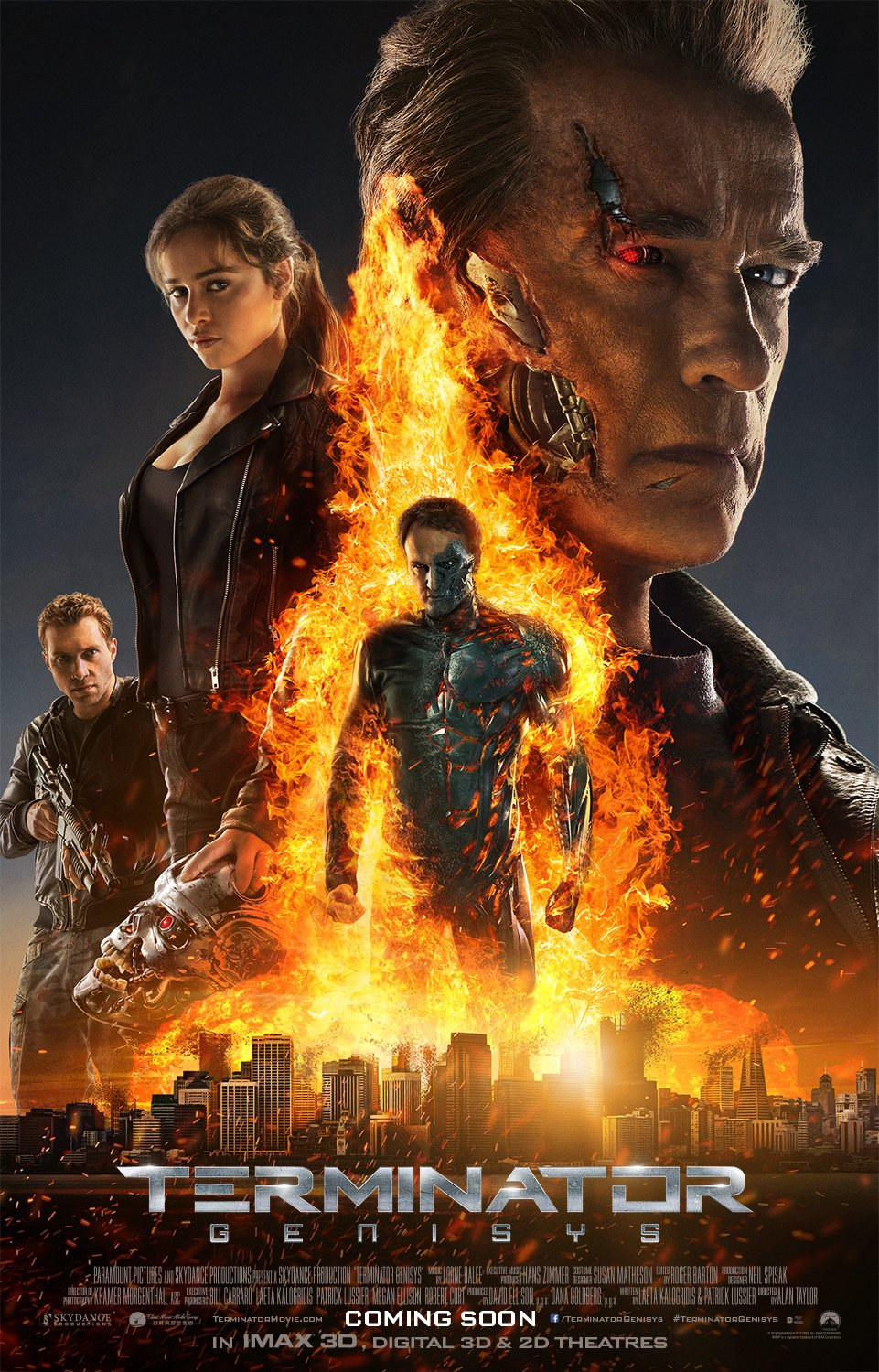 Terminator Genisys – Payoff poster