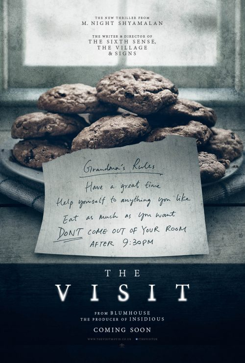 The Visit M. Night Shyamalan new film's Teaser One Sheet