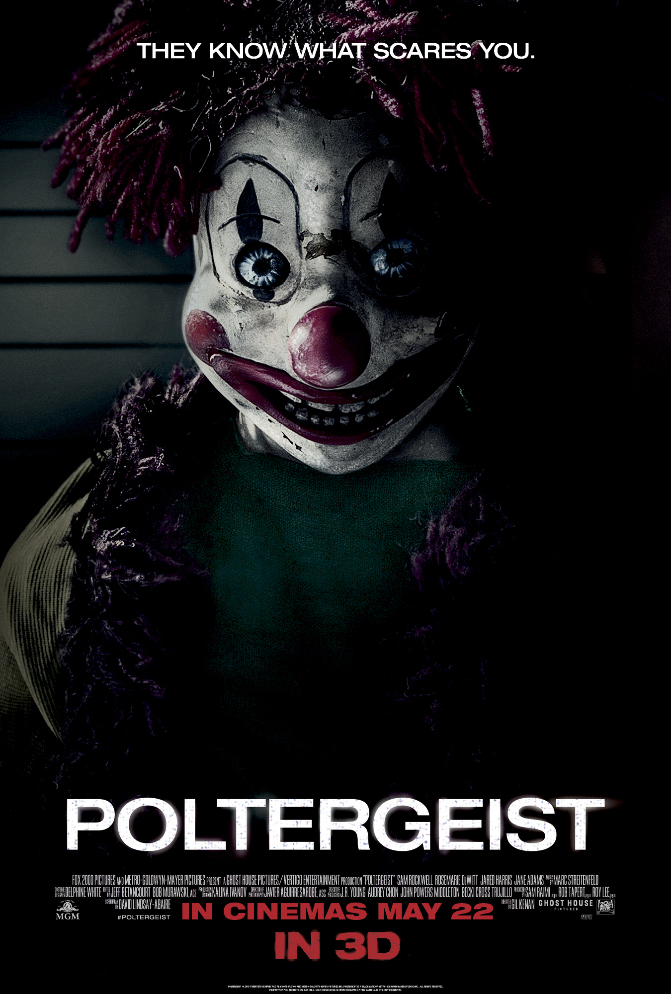 poltergeist very scary poster