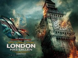 London has Fallen - Big Ben poster