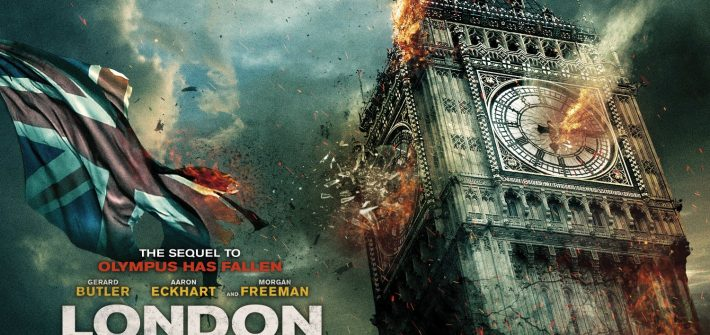 London has Fallen has a trailer