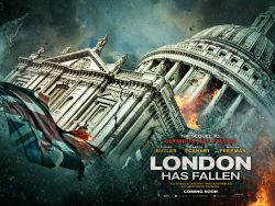 London has Fallen - St Pauls poster