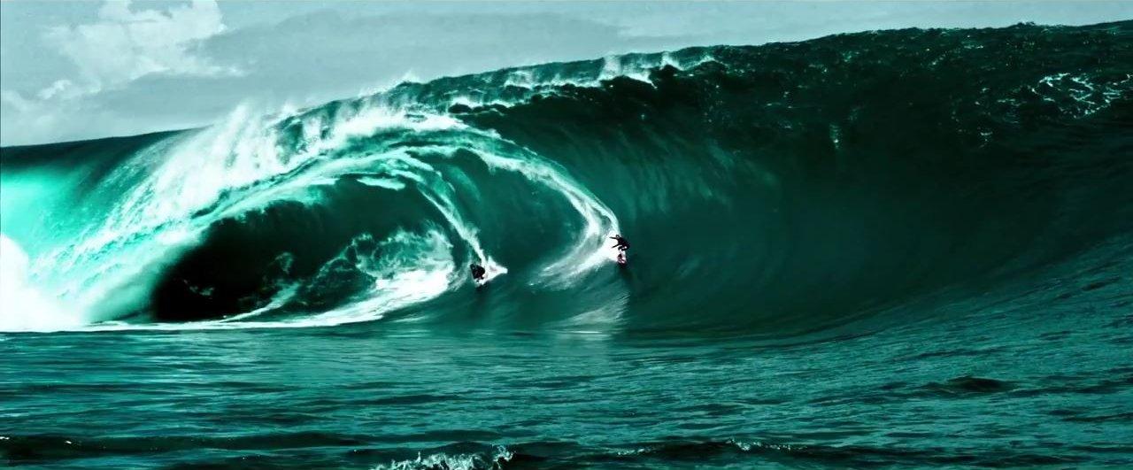 Point Break surfing