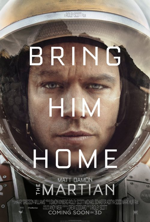 Bring him home - The Martian Teaser One Sheet