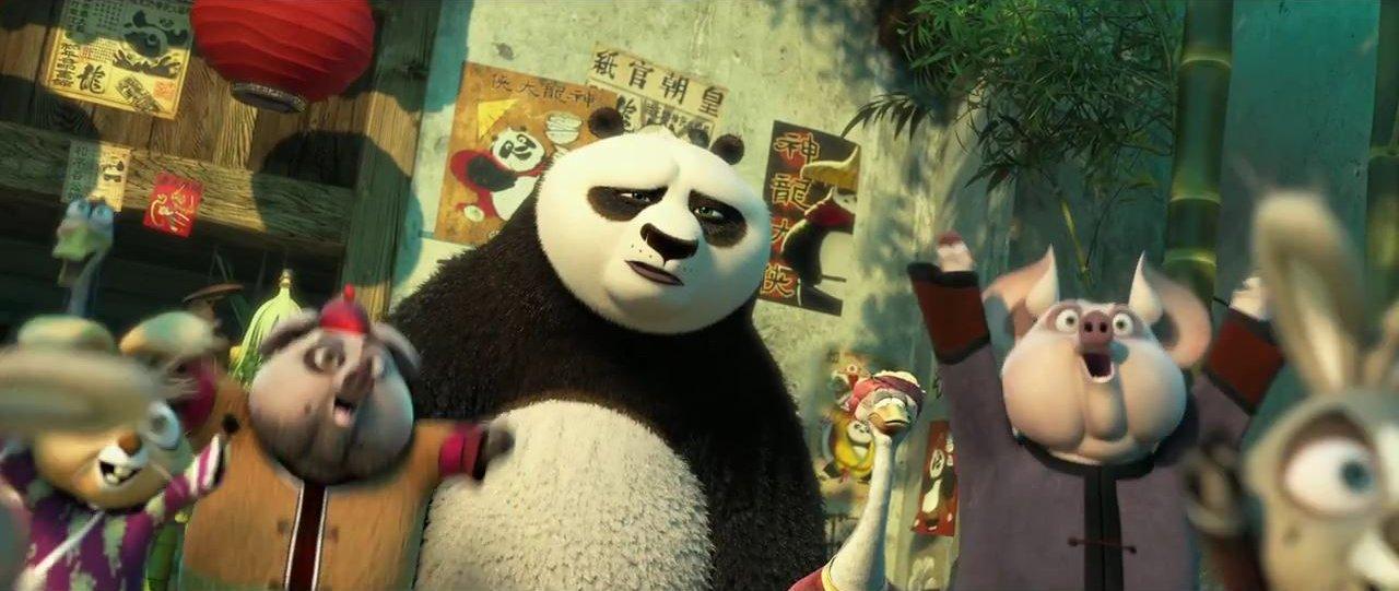 незноком панда серия ночной конг фу