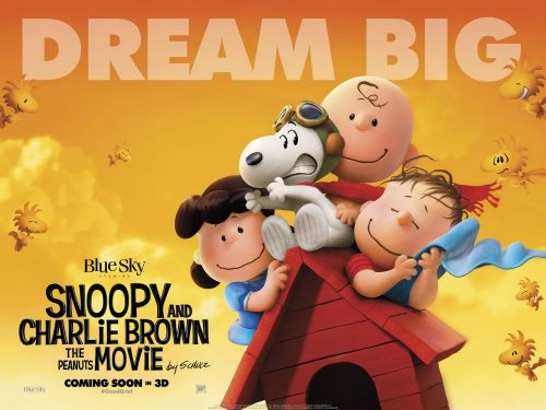 Snoopy and Charlie Brown 2nd Teaser Quad