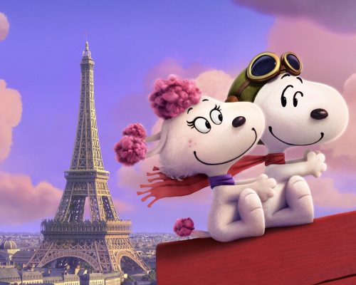 Snoopy and Fifi