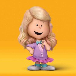 Meghan Trainor as a Peanuts character