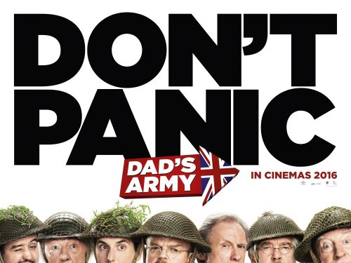 Don't Panic - Dad's Army teaser poster