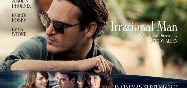 The Irrational Man has a poster