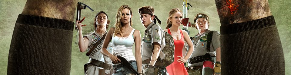 Scouts Guide to the Zombie Apocalypse has a poster