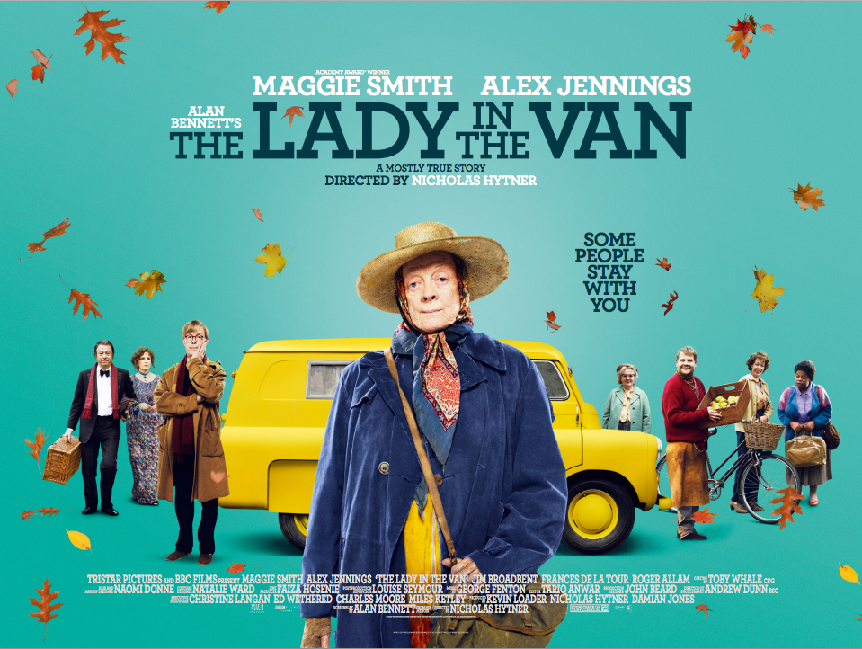 Alan Bennett and the Lady In The Van poster