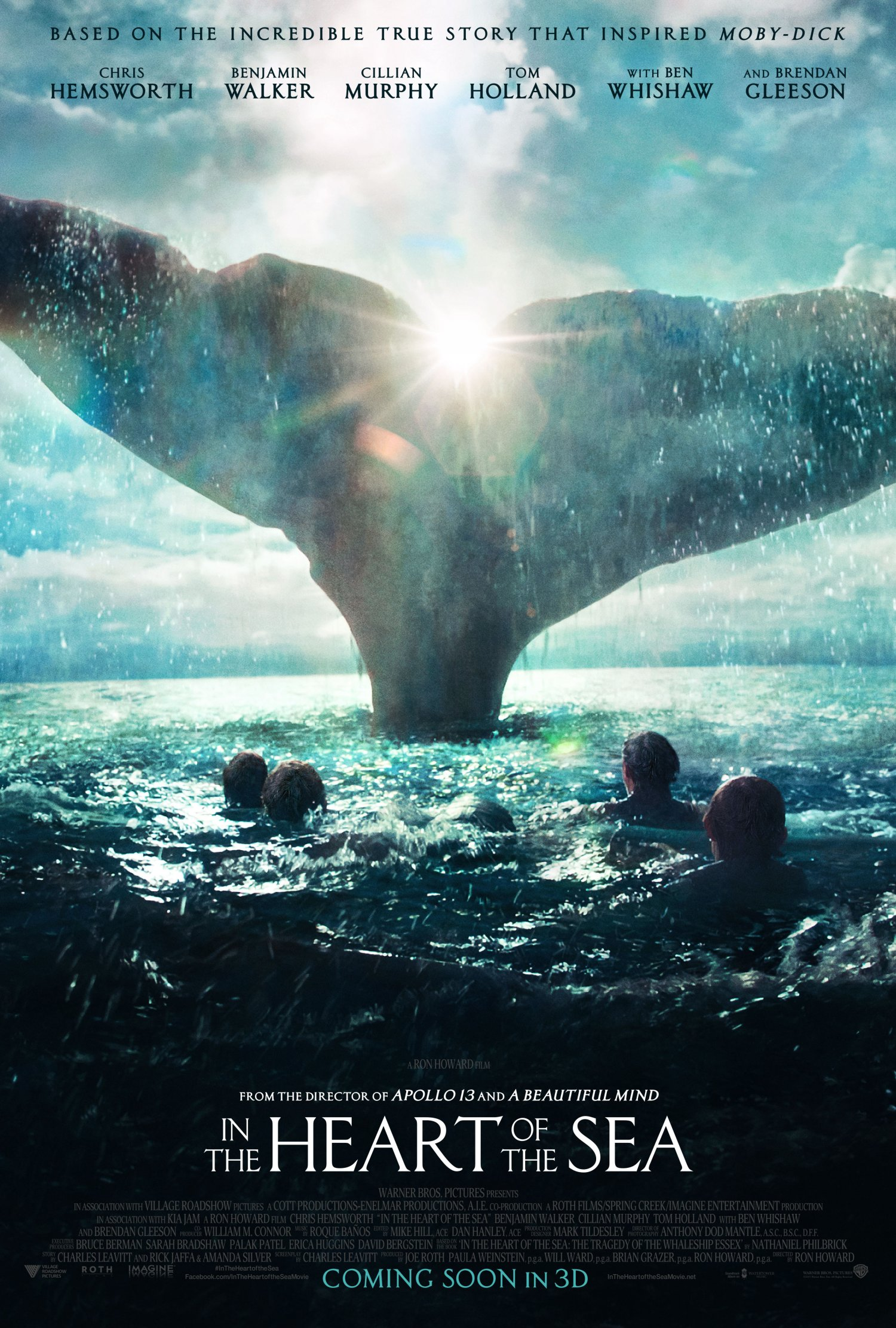 In the Heart of the Sea – The Moby Dick story – poster 2