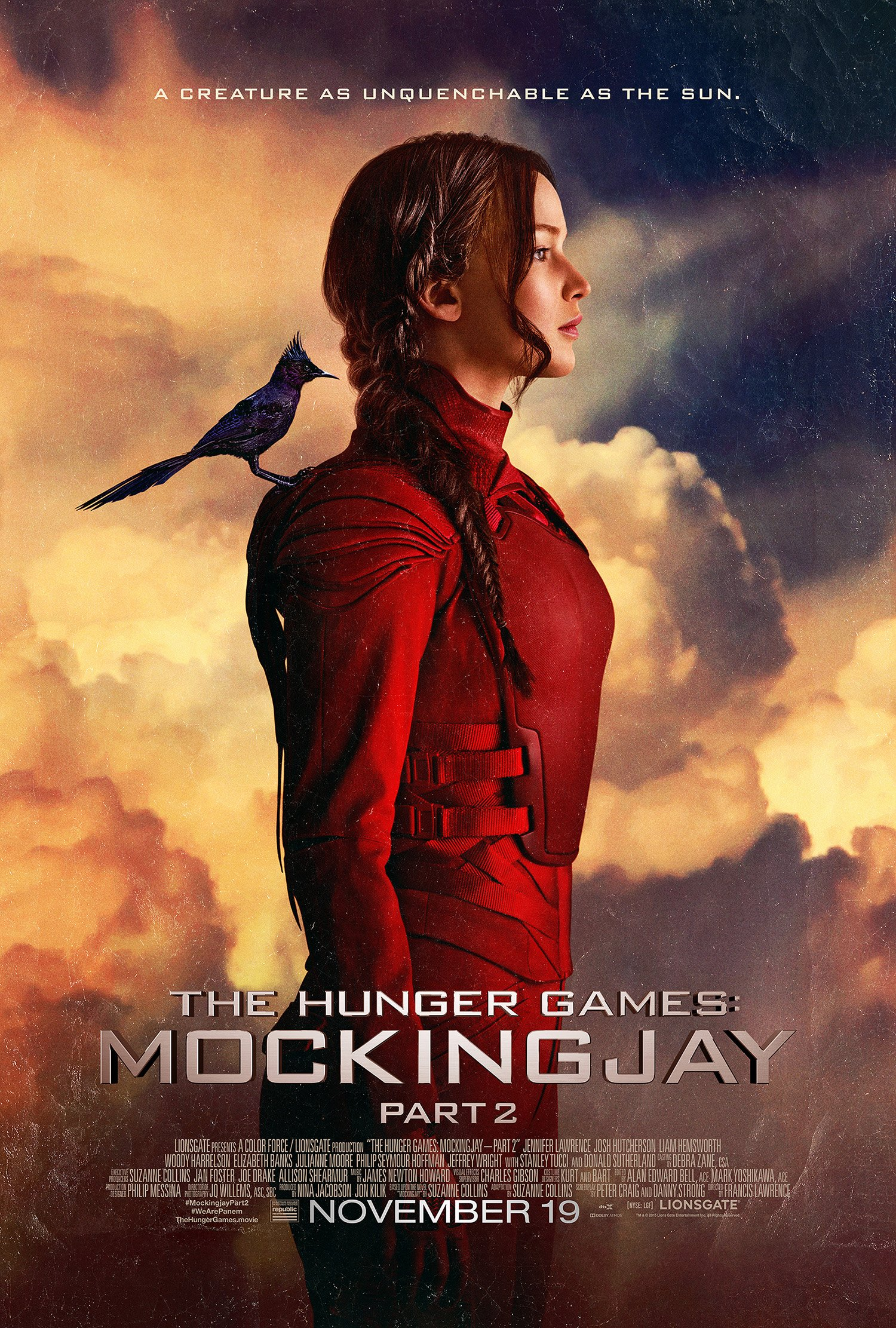 It was all for Prim – the Mockingjay poster