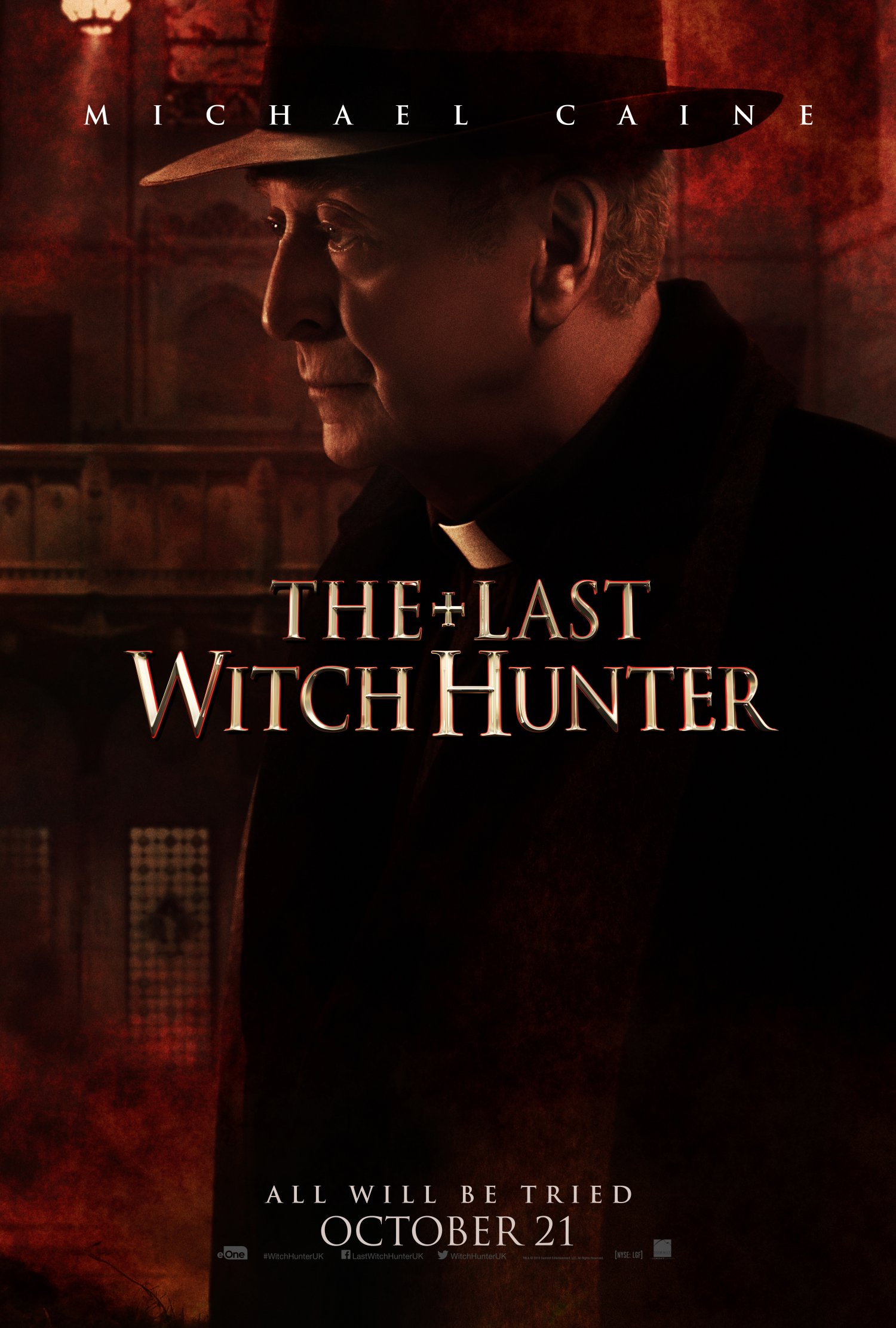 The Last Witch Hunter – Michael Caine