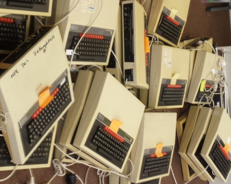 a pile of BBC Micro