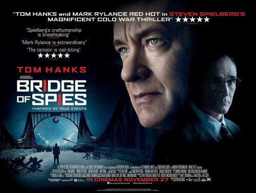 Steven Spielberg's BRIDGE OF SPIES QUAD UK