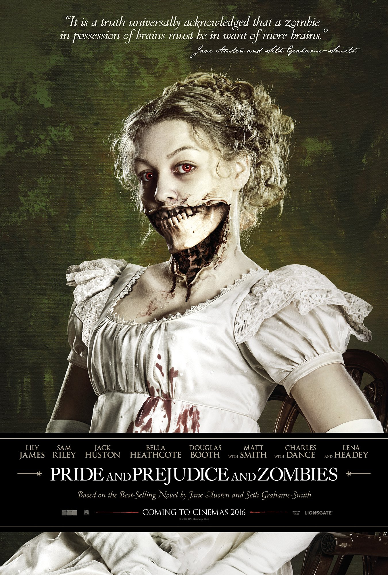 Pride And Prejudice And Zombies Teaser poster