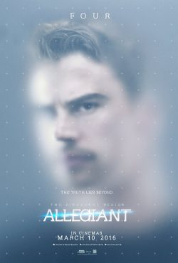 Allegiant - Four Character Poster - UK Final