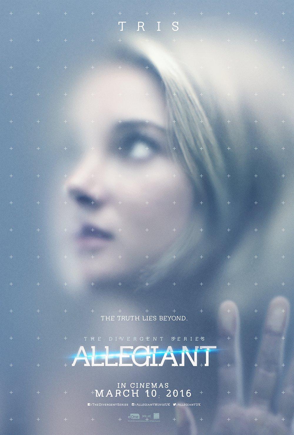 Allegiant – Tris Character Poster – UK Final