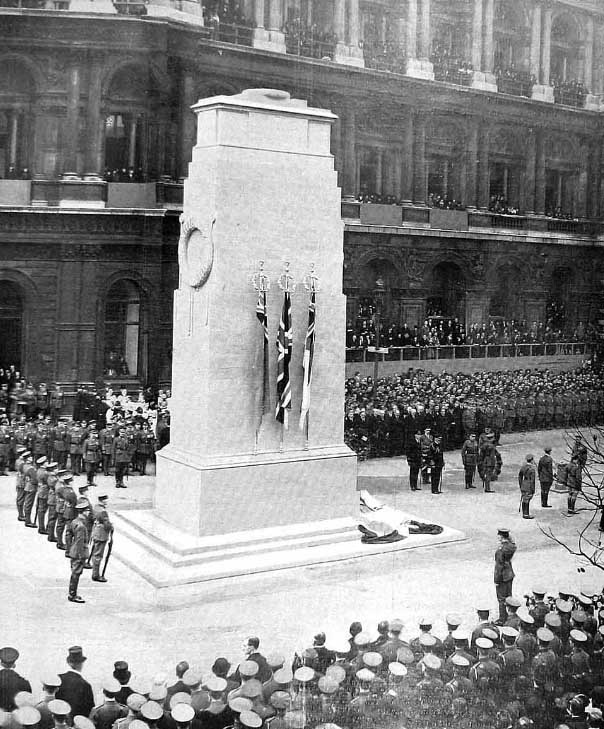Cenotaph Unveiling – 1920
