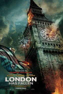 London has Fallen Big Ben poster
