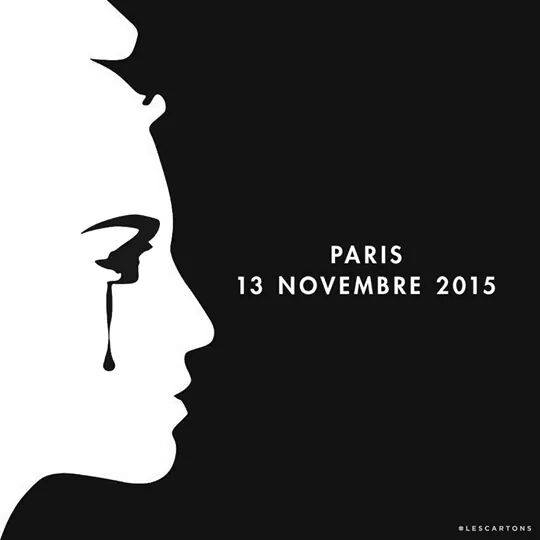 The world weaps for Paris