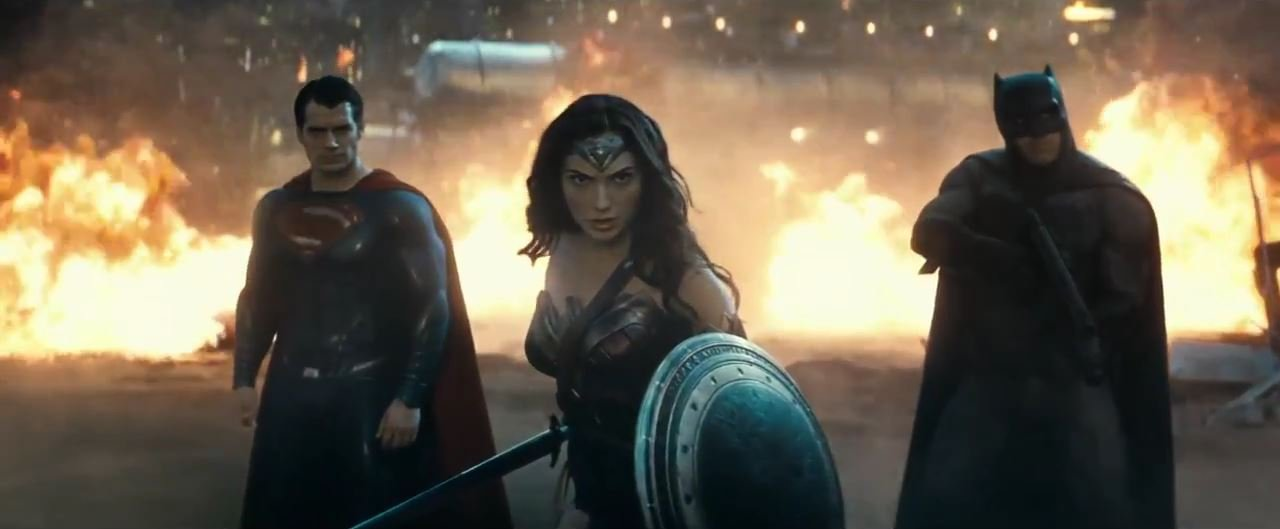 Batman v Superman_ Dawn Of Justice has a friend