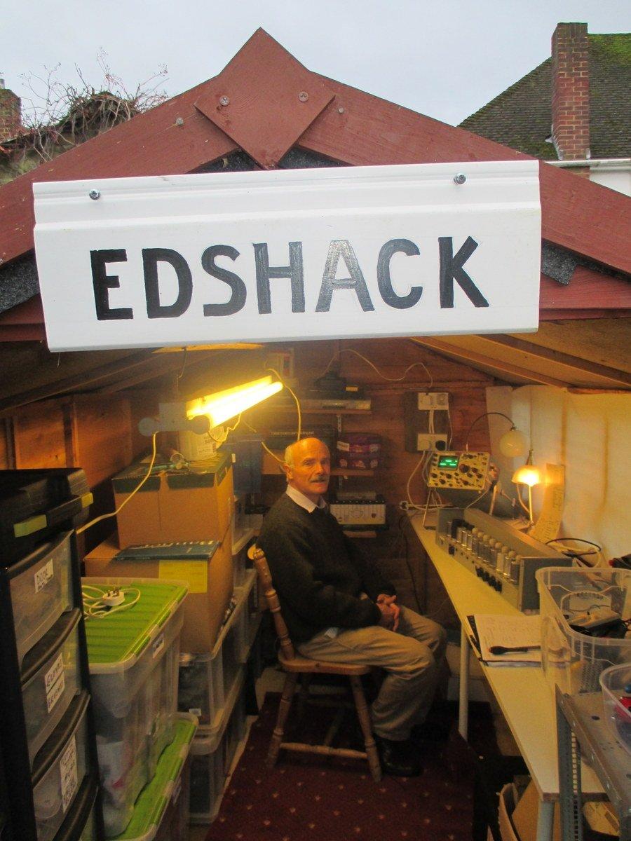 Edshack helping build EDSAC
