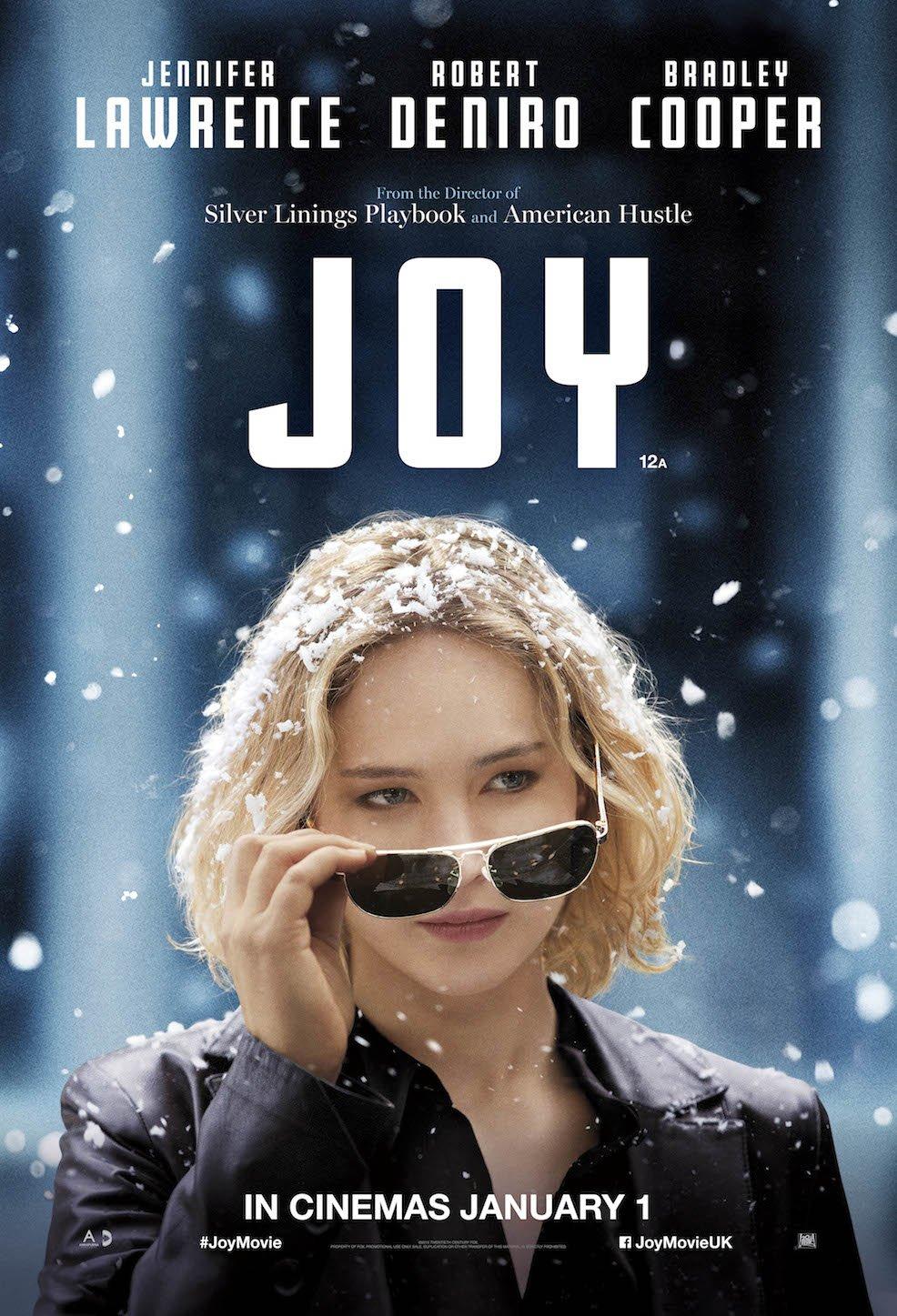 Joy poster with Jennifer Lawrence