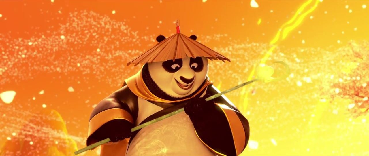 Po is back in Kung Fu Panda 3