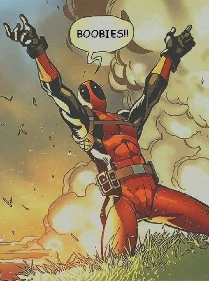 Deadpool and Boobies