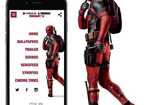 Deadpool has a phone app