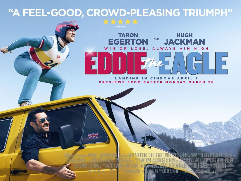 Eddie the Eagle flies again