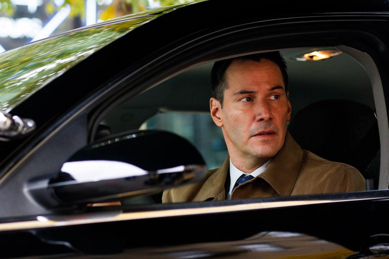 Exposed Keanu Reeves car