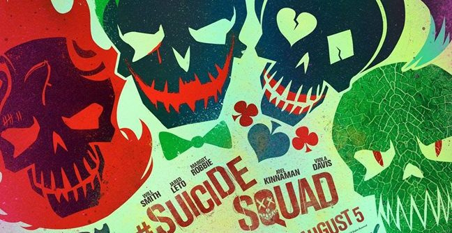 The Suicide Squad have logo posters