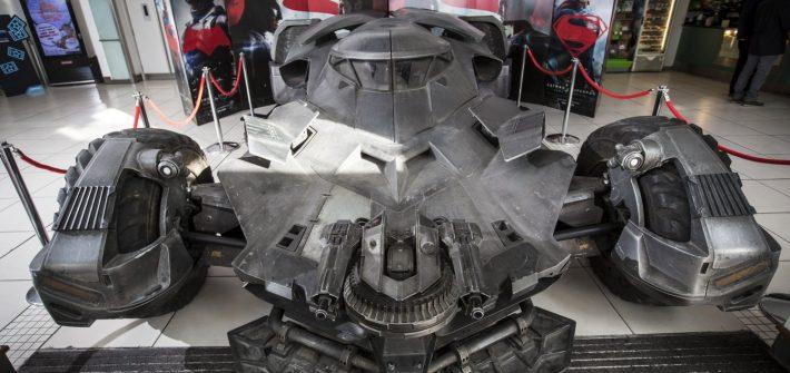 The Batmobile hits London