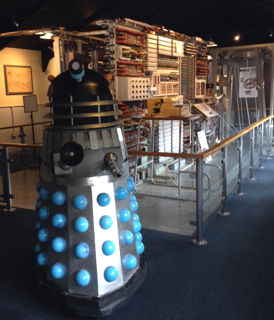 Easter Bytes with a Dalek