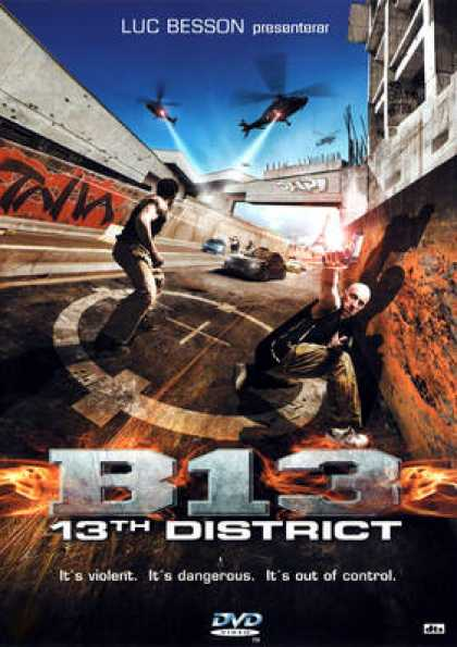 District 13 poster