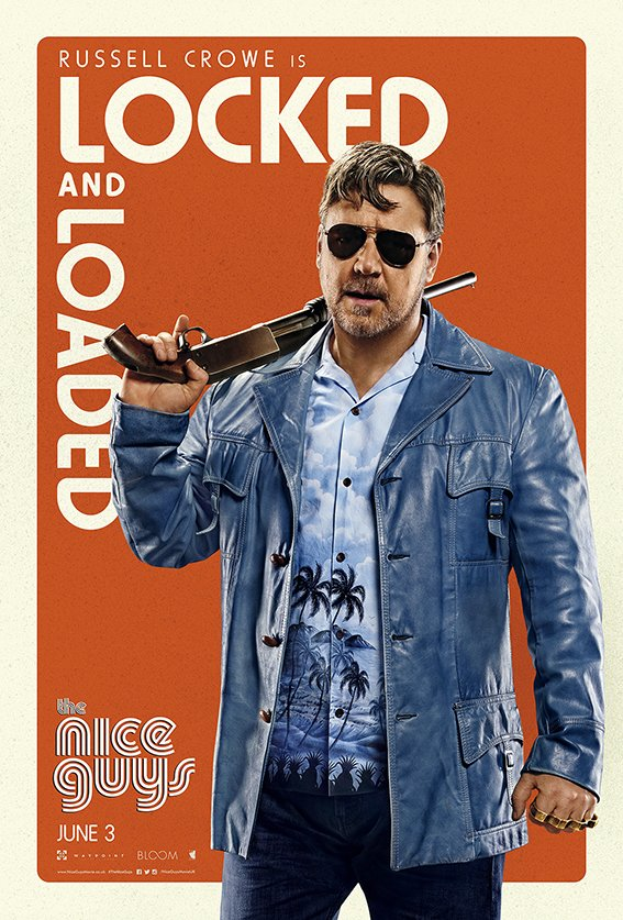 The Nice Guys – Russell Crowe