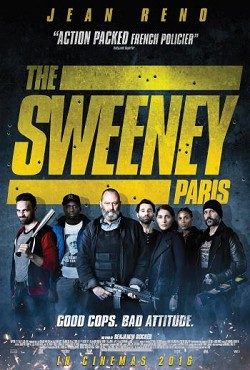 The Sweeney Paris poster