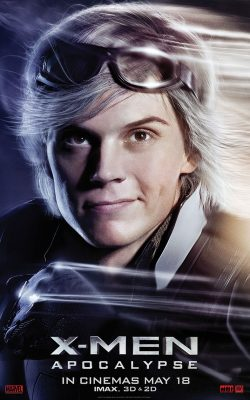 X-Men Quicksilver Character Banner