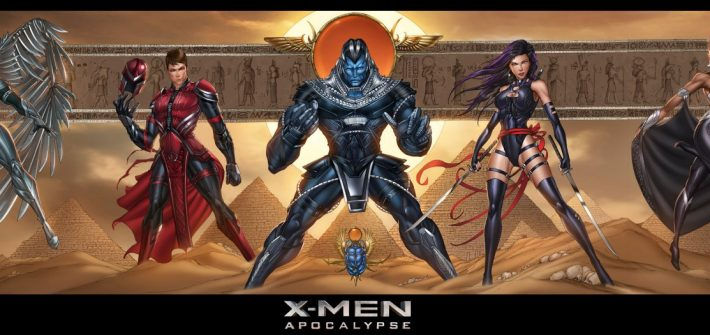 The 4 Horsemen has posters