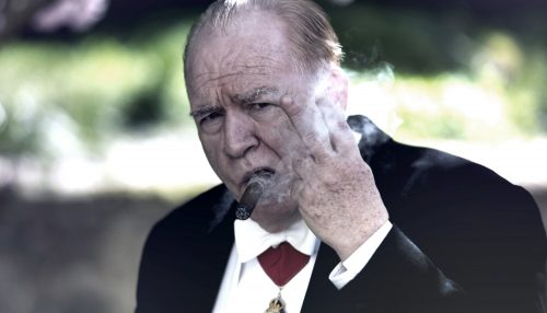 CHURCHILL - First Look Brian Cox as Winston Churchill Credit Graeme Hunter