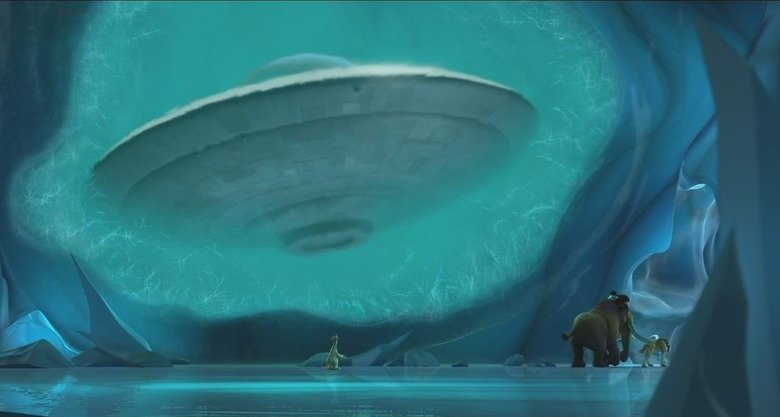Ice Age space ship