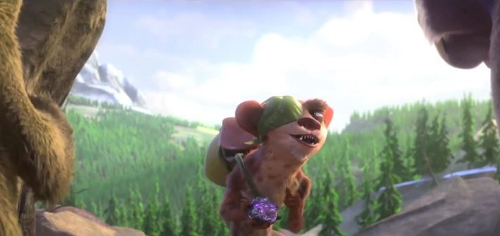Ice Age: Collision Course has an attraction