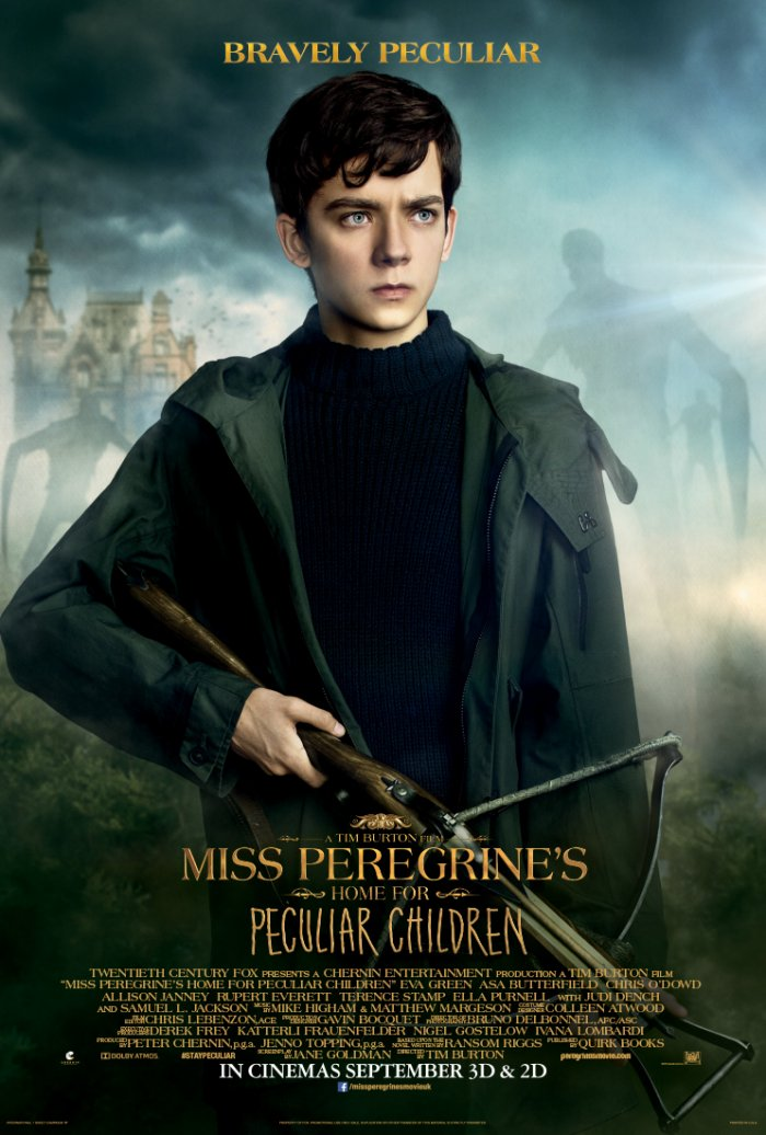Miss Peregrine's Home for Peculiar Children – Jacob